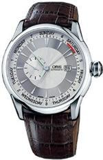 オリス 時計 Oris Artelier Small Second Pointer Day Automatic Mens Watch 645-7596-4051LS