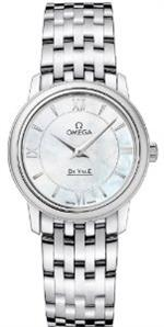 オメガ 時計 Omega Deville Prestige Quartz Ladies Watch 424.10.27.60.05.001<img class='new_mark_img2' src='https://img.shop-pro.jp/img/new/icons35.gif' style='border:none;display:inline;margin:0px;padding:0px;width:auto;' />