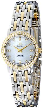 オメガ 時計 Omega Womens 4375.75 White Mother-Of-Pearl Dial DeVille Prestige Watch<img class='new_mark_img2' src='https://img.shop-pro.jp/img/new/icons38.gif' style='border:none;display:inline;margin:0px;padding:0px;width:auto;' />