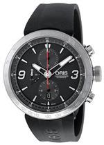 オリス 時計 Oris Mens 01 674 7659 4163 07 4 25 06 TT1 Chrono Grey Dial Watch