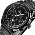 その他 時計 Vandesail Classic Black Strap And Dial Multi functions Watch Mens Commercial Automatic