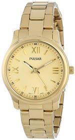 <img class='new_mark_img1' src='https://img.shop-pro.jp/img/new/icons39.gif' style='border:none;display:inline;margin:0px;padding:0px;width:auto;' />パルサー 時計 Pulsar Womens PH8062 Analog Display Japanese Quartz Gold Watch