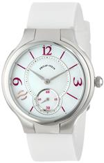 フィリップ ステイン 時計 Philip Stein Womens 41-MOPPR-RWP Round Mother-Of-Pearl and Aubergine Accent