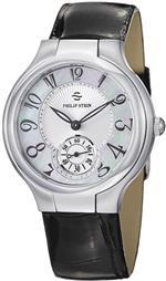 フィリップ ステイン 時計 Philip Stein Signature Round Black Leather Strap Mother of Pearl Dial Watch<img class='new_mark_img2' src='https://img.shop-pro.jp/img/new/icons19.gif' style='border:none;display:inline;margin:0px;padding:0px;width:auto;' />