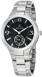 フィリップ ステイン 時計 Philip Stein Signature Round Stainless Steel Black Dial Watch 43-MB-SS<img class='new_mark_img2' src='https://img.shop-pro.jp/img/new/icons7.gif' style='border:none;display:inline;margin:0px;padding:0px;width:auto;' />