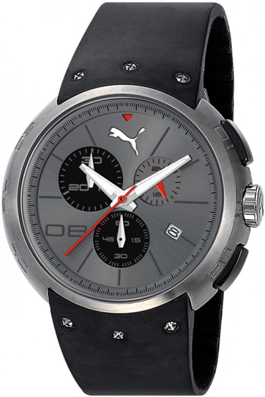 new product 58f70 43bd1 プーマ 時計 Puma Hero L Titanium Chronograph Grey Dial Mens Watch PU102671002 -  輸入時計専門店 ショップ タイムズ 通販