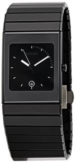 ラド 時計 Rado Mens R21713152 Ceramica Black Dial Watch