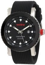 レッドライン 時計 red line Mens RL-18002-01 Compressor Black Dial Watch