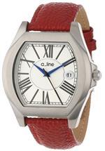 レッドライン 時計 a_line Womens AL-80008-02-D-RD Adore Red Watch
