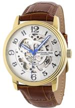 ストゥーリング 時計 Stuhrling Original Mens 107BG.3335T2 Delphi Oracle Gents Automatic Skeleton