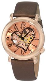 ストゥーリング 時計 Stuhrling Original Womens 109Set Amour Aphrodite Cupid Automatic Skeleton Wa...