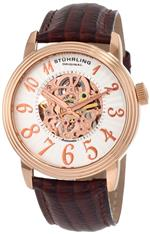 ストゥーリング 時計 Stuhrling Original Mens 107A.3345K34 Classic Delphi Apollo Automatic Skeleto...