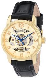 ストゥーリング 時計 Stuhrling Original Womens 107EL.113531 Classic Delphi Gold-Tone Automatic Sk...