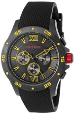 レッドライン 時計 red line Mens RL-60036 Chronograph Black Dial Black Textured Silicone Watch<img class='new_mark_img2' src='https://img.shop-pro.jp/img/new/icons32.gif' style='border:none;display:inline;margin:0px;padding:0px;width:auto;' />