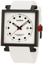 レッドライン 時計 red line Mens RL-50035-BB-02-WHT Compressor 2 White Dial White Silicone Watch