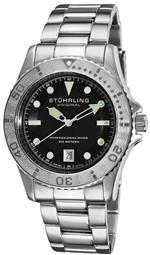 ストゥーリング 時計 Stuhrling Original Mens 1161.33111 Nautical Regatta Sailor Swiss Quartz Divers