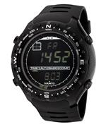 スント 時計 Suunto SS012926110 Men Digital Multi-Function Black Rubber