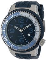 スイスレジェンド 時計 Swiss Legend Mens 21818S-B-MG Neptune Navy Blue Dial Navy Blue Silicone Watch