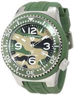 スイスレジェンド 時計 Swiss Legend Mens 11852C-017 Neptune Green Camouflage Dial Watch