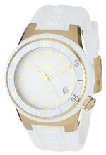 スイスレジェンド 時計 Swiss Legend Womens 11840D-YG-02-WHT Neptune White Dial White Silicone Watch