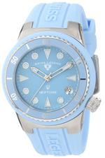 スイスレジェンド 時計 Swiss Legend Womens 11840D-012 Neptune Light Blue Dial Light Blue Silicone