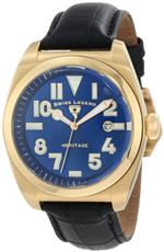 スイスレジェンド 時計 Swiss Legend Mens 20434-YG-03 Heritage Blue Dial Watch<img class='new_mark_img2' src='https://img.shop-pro.jp/img/new/icons6.gif' style='border:none;display:inline;margin:0px;padding:0px;width:auto;' />