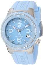 スイスレジェンド 時計 Swiss Legend Womens 11840P-012 Neptune Baby Blue Dial Baby Blue Silicone Watch