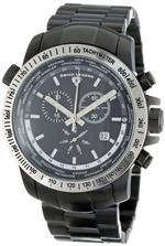 スイスレジェンド 時計 Swiss Legend Mens 10013-BB-11-SB World Timer Collection Chronograph Stainless