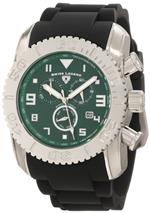 スイスレジェンド 時計 Swiss Legend Mens 20066-08B Commander Chronograph Dark Green Textured Dial<img class='new_mark_img2' src='https://img.shop-pro.jp/img/new/icons22.gif' style='border:none;display:inline;margin:0px;padding:0px;width:auto;' />