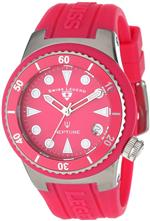 スイスレジェンド 時計 Swiss Legend Womens 11840D-015 Neptune Hot Pink Dial Hot Pink Silicone Watch