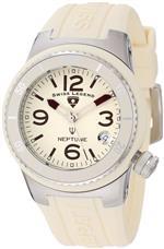 スイスレジェンド 時計 Swiss Legend Womens 11840P-016 Neptune Beige Dial Beige Silicone Watch