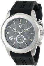 スイスレジェンド 時計 Swiss Legend Mens 10042-014 Monte Carlo Chronograph Grey Textured Dial Black