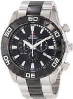 スイスプレシマックス 時計 Swiss Precimax Mens SP12056 Valor Elite Black Dial with Silver