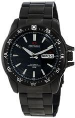 スイスプレシマックス 時計 Precimax Mens PX12093 Propel Automatic Black Dial Watch