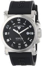 スイスレジェンド 時計 Swiss Legend Mens 40030-01 Sportiva Black Textured Dial Black Silicone Watch<img class='new_mark_img2' src='https://img.shop-pro.jp/img/new/icons11.gif' style='border:none;display:inline;margin:0px;padding:0px;width:auto;' />