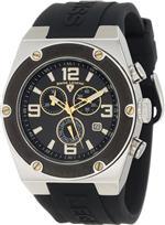 スイスレジェンド 時計 Swiss Legend Mens SL-30025-01-BB-GA Throttle Black Silicone Watch
