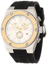 スイスレジェンド 時計 Swiss Legend Mens 30025-02S-GB Throttle Chronograph Silver Dial Watch