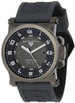 スイスレジェンド 時計 Swiss Legend Mens 40030-GM-014 Sportiva Grey Textured Dial Grey Silicone Watch<img class='new_mark_img2' src='https://img.shop-pro.jp/img/new/icons18.gif' style='border:none;display:inline;margin:0px;padding:0px;width:auto;' />