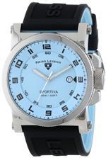 スイスレジェンド 時計 Swiss Legend Mens 40030-012 Sportiva Reversible Light Blue Silicone Watch