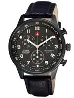 スイスミリタリー 時計 Swiss Military Chronograph 20042BPL-1L