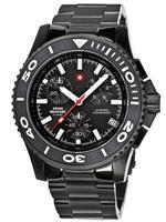 スイスミリタリー 時計 Swiss Military Herren-Armbanduhr Chronograph 20084BPL-1M