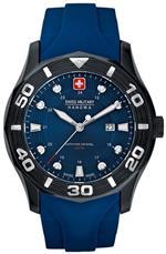<img class='new_mark_img1' src='https://img.shop-pro.jp/img/new/icons3.gif' style='border:none;display:inline;margin:0px;padding:0px;width:auto;' />スイスミリタリー 時計 Swiss Military Hanowa Mens Oceanic 06-4170-13-003 Blue Rubber Swiss Quartz
