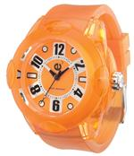 テンデス 時計 Tendence 02013013 Rainbow Orange 44mm Watch
