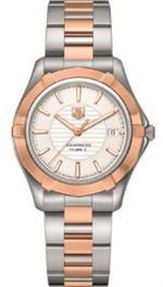 タグ ホイヤー 時計 Tag Heuer Aquaracer Automatic Stainless Steel and 18kt Rose Gold Mens Watch<img class='new_mark_img2' src='https://img.shop-pro.jp/img/new/icons7.gif' style='border:none;display:inline;margin:0px;padding:0px;width:auto;' />