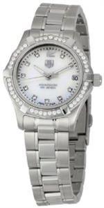 <img class='new_mark_img1' src='https://img.shop-pro.jp/img/new/icons25.gif' style='border:none;display:inline;margin:0px;padding:0px;width:auto;' />タグ ホイヤー 時計 TAG Heuer Womens WAF1313.BA0819 Aquaracer Quartz Watch