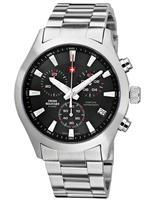 スイスミリタリー 時計 Swiss Military Herren-Armbanduhr Chronograph 20085ST-1M