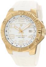 スイスレジェンド 時計 Swiss Legend Mens 40117-YG-02 Super Shield White Dial Watch