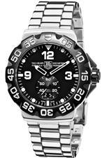 タグ ホイヤー 時計 TAG Heuer Mens WAH1010.BA0854 Formula 1 Grande Date Black Dial Watch
