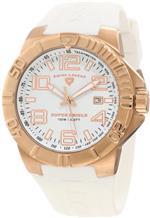 スイスレジェンド 時計 Swiss Legend Mens 40117-RG-02 Super Shield White Dial Watch