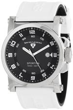 スイスレジェンド 時計 Swiss Legend Mens 40030-01-WAS quotSportivaquot Black Textured Dial and